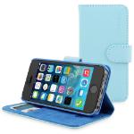 "TheSnugg B00PY13YM6 4"" Folio Blue mobile phone case"