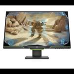 """HP X27i 68.6 cm (27"""") 2560 x 1440 pixels Quad HD LED Black"""