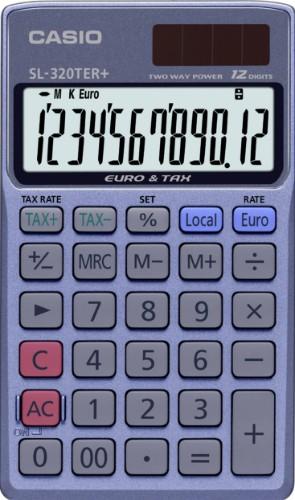 Casio SL-320TER+ calculator Pocket Basic Blue