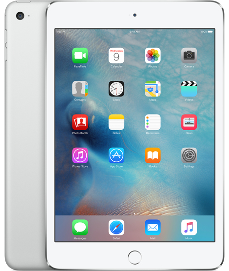 Apple iPad mini 4 128GB Silver,White tablet