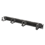 """Digitus Cable Management Panel with Brush Entries for 483 mm (19"""") Cabinets, 1U"""