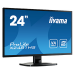 "iiyama ProLite X2481HS-B1 23.6"" Full HD VA Black LED display"