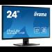 "iiyama ProLite X2481HS-B1 23.6"" Full HD VA Black LED display"