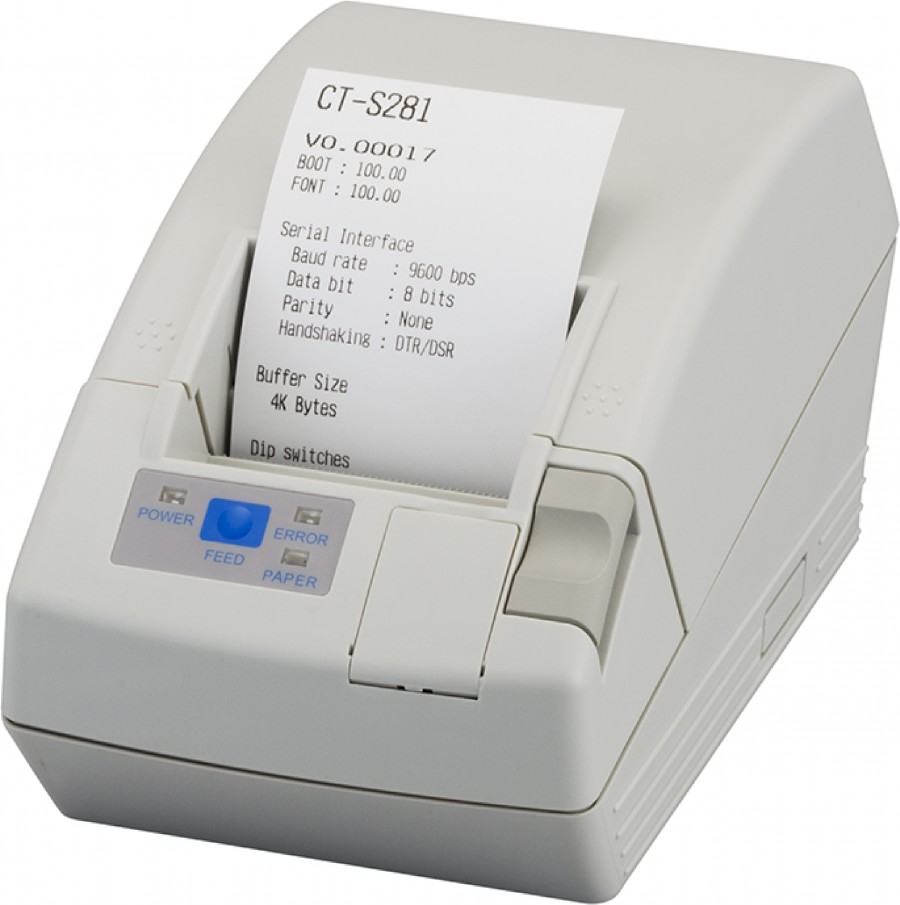 Citizen CT-S281L Direct thermal POS printer 203 x 203 DPI Wired