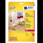Avery L7990R-25 Red printer label