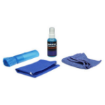 Manhattan 421010 equipment cleansing kit Equipment cleansing wet/dry cloths & liquid LCD/TFT/Plasma