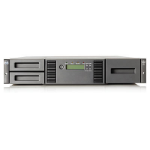Hewlett Packard Enterprise MSL2024 1 LTO-4 Ultrium 1760 SAS Tape Library 19200GB 2U tape auto loader/library
