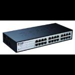 D-Link DES-1100-24 Managed L2 Black network switch