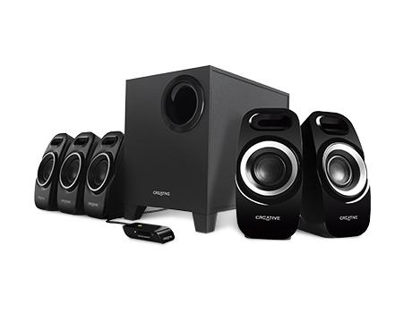Creative Labs Inspire T6300 speaker set 5.1 channels 57 W Black