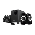 Creative Labs Inspire T6300 speaker set 5.1 channels 57 W Black