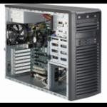 Supermicro SYS-5038A-IL Socket H3 (LGA 1150) Midi-Tower Black barebone