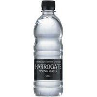 HARROGAT E WATER 500ML PET STILL PK24