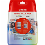 Canon 2933B011 (CLI-521) Ink cartridge multi pack, 446 pages, 9ml, Pack qty 3