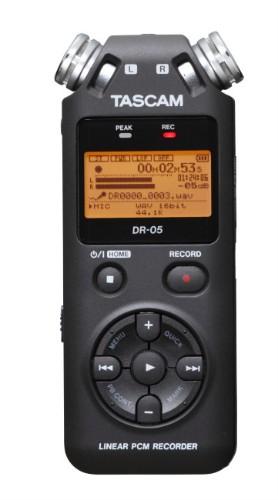 Tascam DR-05 v2 Flash card Grey dictaphone