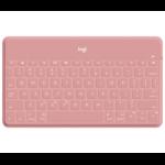 Logitech Keys-To-Go Roze Bluetooth Duits