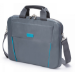 Dicota 13.3-Inch Top Loading Lockable Cushioned Notebook Briefcase - Grey/Blue - (D30994)