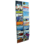 ESSELTE CLIPLOCK BROCHURE HOLDER A4 16 POCKETS