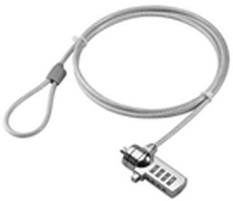 Microconnect NOTEBOOKL1 Silver cable lock
