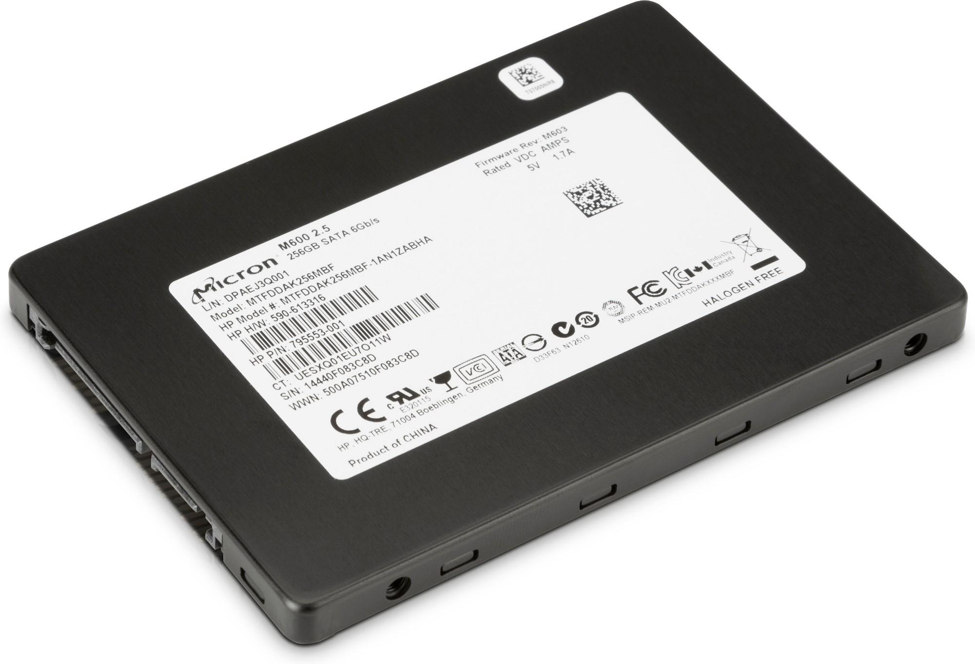 HP 256GB SATA Solid State Drive