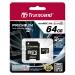 Transcend 64GB MicroSDXC Class 10 64GB MicroSDXC MLC Class 10 memory card