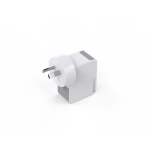 SWISS 2 Port USB Universal Wall Charger 2.4 amp - White