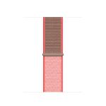 Apple MXMN2ZM/A smartwatch accessory Band Braun, Pink, Rot Nylon