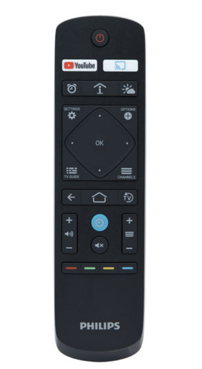 Philips 22AV1905A remote control TV Press buttons