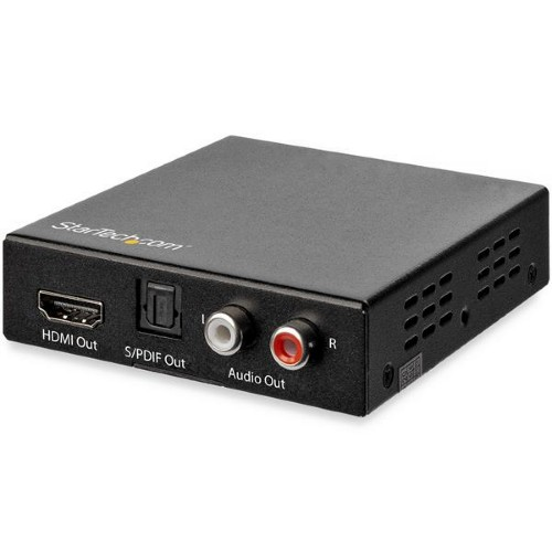 StarTech.com 4K HDMI Audio Extractor with 4K 60Hz Support