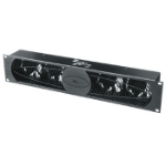 Middle Atlantic Products IUQFP-4RA rack cooling equipment Black 2U