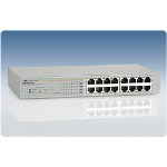 Allied Telesis AT-FS716L Switch Unmanaged network switch Power over Ethernet (PoE) White