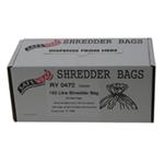 FSMISC SAFEWRAP SHREDDER BAGS 150 LITRE PK50