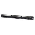 Tripp Lite N054-024 24-Port 1U Rack-Mount Cat5e Feedthrough Patch Panel, RJ45 Ethernet, TAA