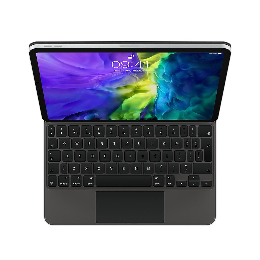 Apple Magic Keyboard for iPad�� Pro 11-inch (3rd Gen) and iPad�� Air (4th Gen) - British English - Black