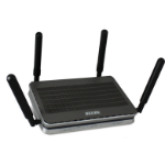 Billion BIPAC 8900AX-2400 Tri-band (2.4 GHz / 5 GHz / 5 GHz) Gigabit Ethernet Black wireless router