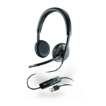 Plantronics Blackwire C520 Binaural Head-band Black headset