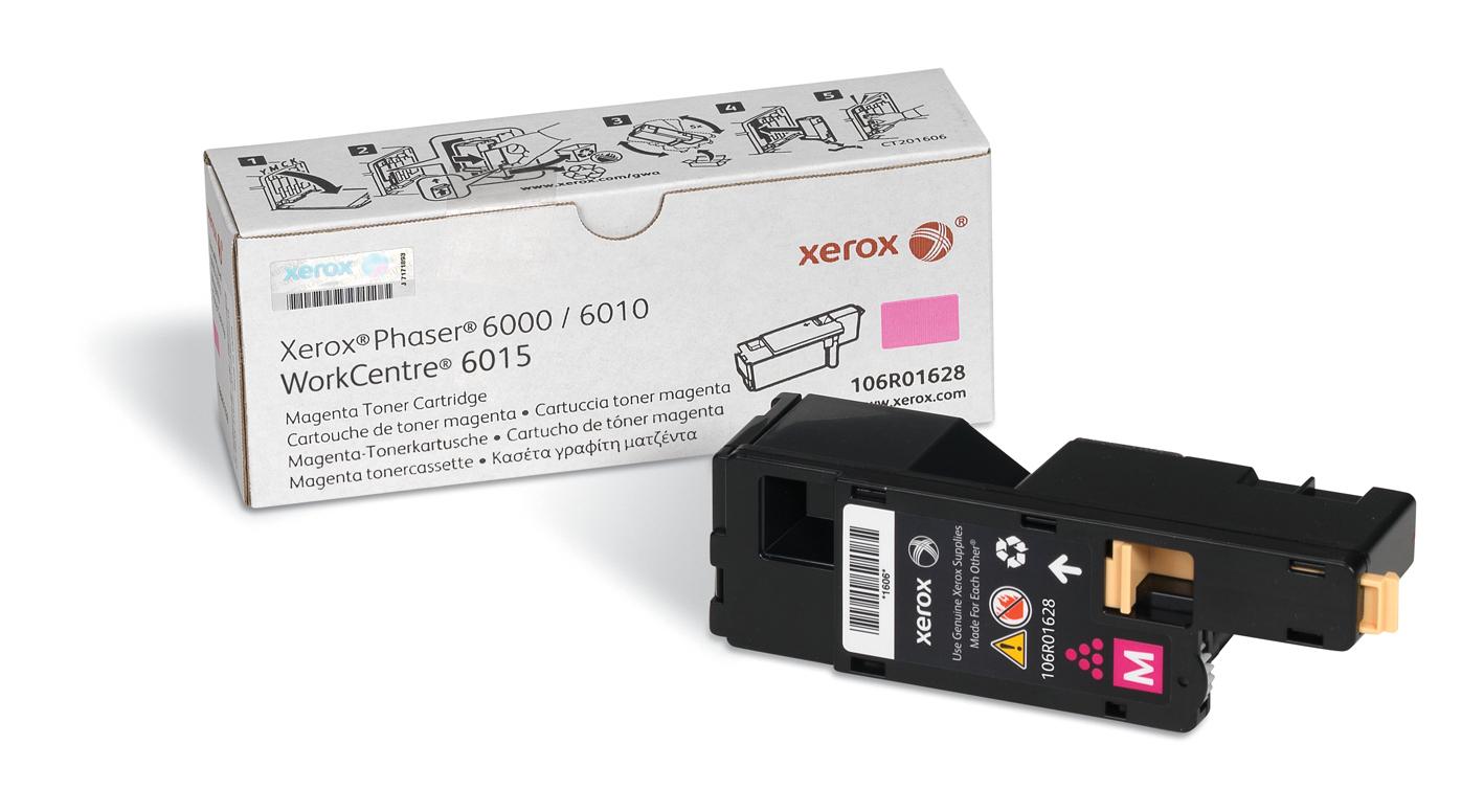 Xerox Phaser 6000/6010 / Workcentre 6015, cartucho de tóner magenta de capacidad normal (1.000 páginas)