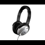 Maxell HP/NC-II Headphones Head-band Black,Silver