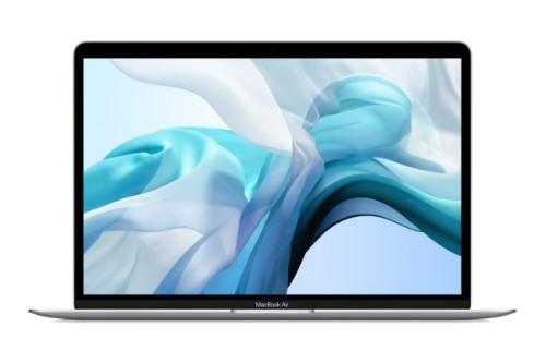 """Apple MacBook Air Notebook Silver 33.8 cm (13.3"""") 2560 x 1600 pixels 10th gen Intel® Core™ i3 8 GB LPDDR4x-SDRAM 256 GB SSD Wi-Fi 5 (802.11ac) macOS Catalina"""