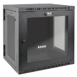 Tripp Lite 12U SmartRack Wall-Mount Rack Enclosure Cabinet with Clear Acrylic Door, UPS-Depth, Hinged BackZZZZZ], SRW12USDPG