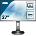 """AOC Q2790PQE computer monitor 68,6 cm (27"""") 2560 x 1440 Pixels Quad HD LED Grijs"""
