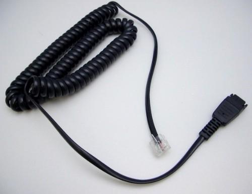 Jabra 8800-01-94 telephony cable 1.8 m Black