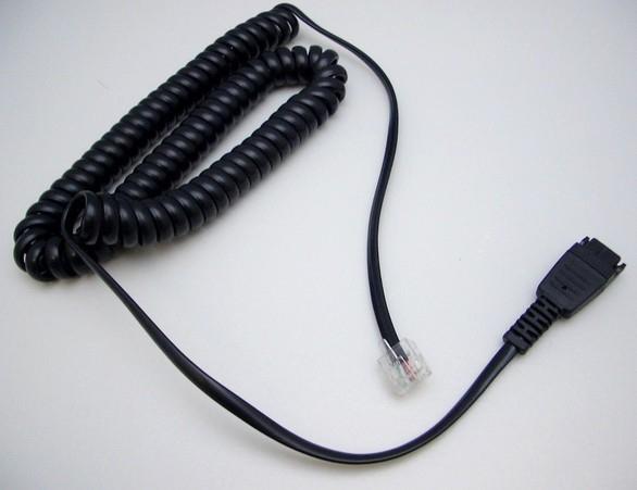 Jabra 8800-01-94 cable telefónico 1,8 m Negro