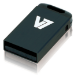 V7 Unidad de memoria flash USB 2.0 nano 8 GB, negra
