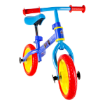 Paw Patrol Metal Balance Bike with Adjustable Handlebar & Seat (OPAW043)