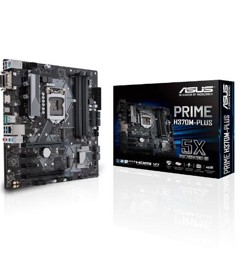 ASUS PRIME H370M-PLUS LGA 1151 (Socket H4) Micro ATX Intel® H370