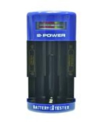 2-Power BTH0003A Black,Blue battery tester