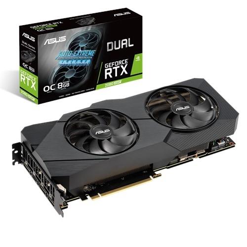 ASUS Dual -RTX2080S-O8G-EVO-V2 NVIDIA GeForce RTX 2080 SUPER 8 GB GDDR6