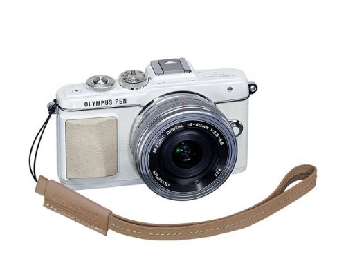 Olympus E0410189 Digital camera Leather Brown strap