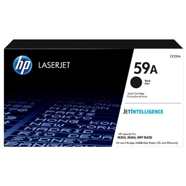 HP CF259A (59A) Toner black, 3K pages