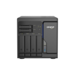 QNAP TS-H686-D1602-8G/32TB-N300 NAS/storage server Tower Ethernet LAN Black D-1602